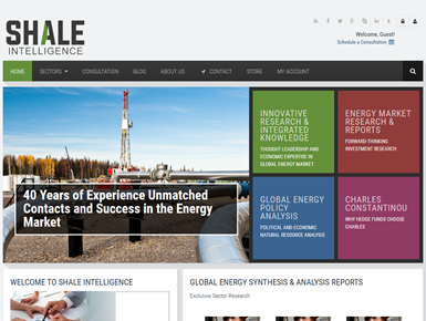 Shale Intelligence Redesign